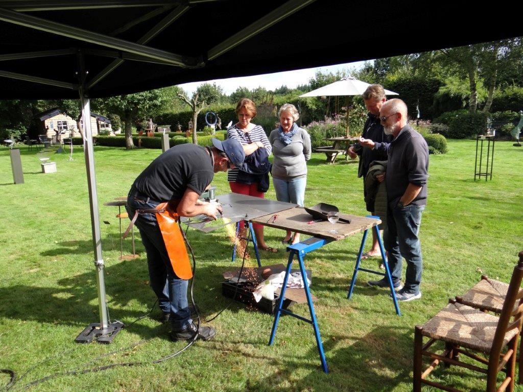 Steelfie demo in Drenthe